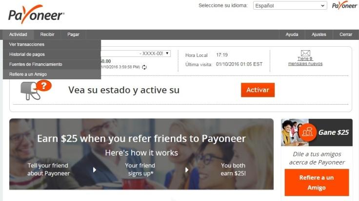Gana Dinero Con Payoneer Con Referidos