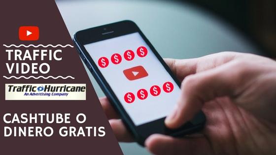 Como ganar dolares viendo videos de youtube con traffichurricane