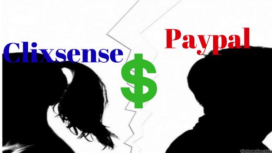 Clixsense elimina a paypal como metodo de pago