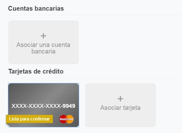 codigo para confirmar tarjeta virtual paypal