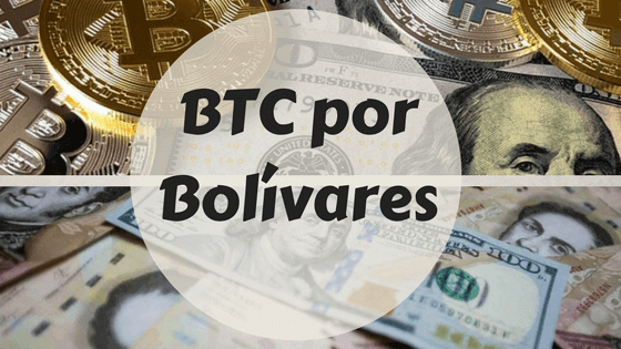 Como comprar bitcoin con bolivares